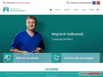 Wojciech Gałkowski Protetyka warszawa