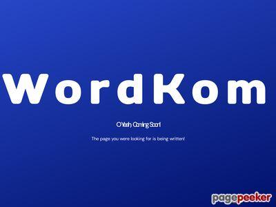 Wordkom - tanie serwery i domeny