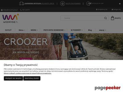 Wozimysie.pl przyczepki rowerowe