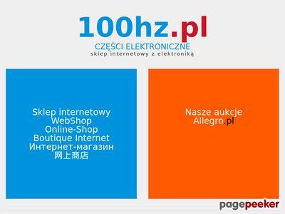 Www.100Hz.pl - sklep z częściami elektronicznymi