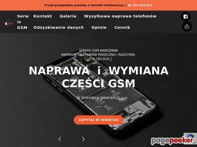 Naprawa telefonów Warszawa