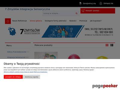 Integracja sensoryczna sklep