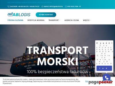 Firma spedycyjno transportowa - AB logis