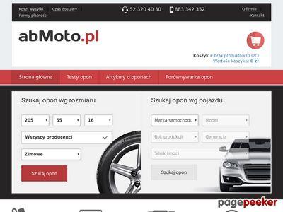 Opony samochodowe w abMoto