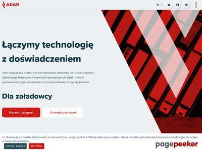 Firma transportowa, międzynarodowa spedycja Adar sp. z o.o.