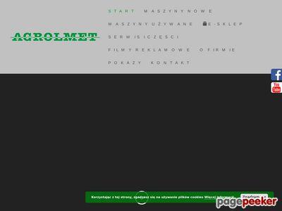 www.agrolmet.pl : przyczepy metaltech