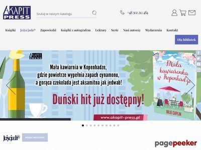Wydawnictwo Akapit Press książki dla dzieci i młodzieży