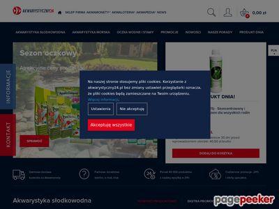 Sklep akwarystyczny Akwarystyczny24.pl