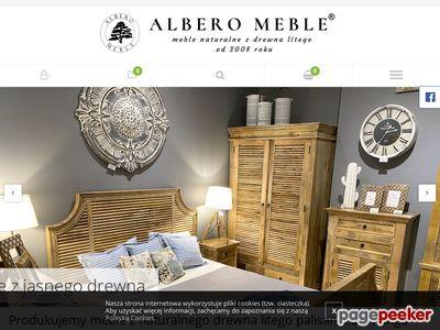ALBERO MEBLE - meble z drewna