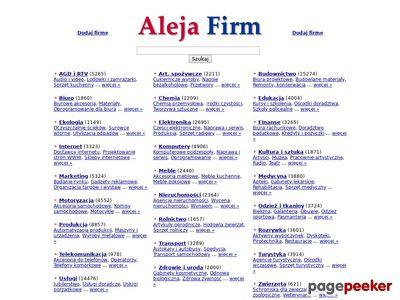 AlejaFirm.pl - katalog firm