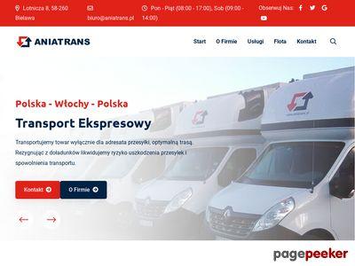 ANIATRANS - Ekspresowy Transport Międzynarodowy