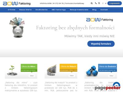 Faktoring z regresem i bez regresu - AOW