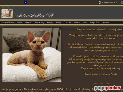 ArtemidaRex*Pl - Devon Rex Cattery