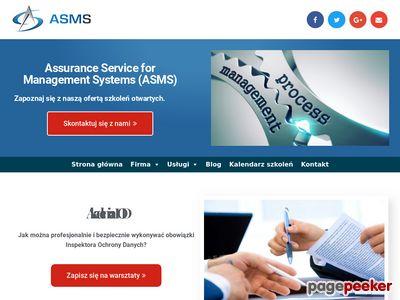 ASMS - Certyfikacja Systemów Zarządzania