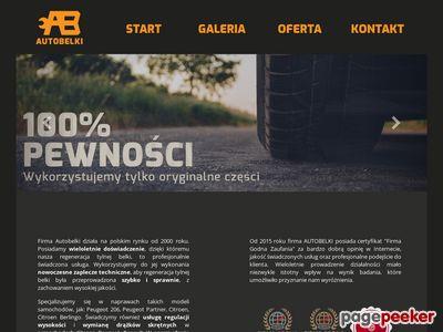Regeneracja tylnej belki Citroen - Autobelki.pl