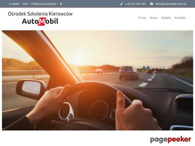 Nauka jazdy Toruń