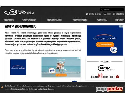 AutoWnioski.pl – pomoc w rejestracji pojazdu! | forum dyskusyjne