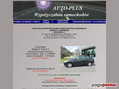 Wypożyczalnia samochodów Bydgoszcz, AUTO-PLUS, Wynajem samochodów, Lotnisko, Rent a car, Autowypożyczalnia