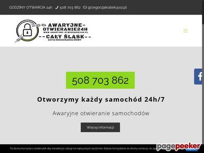 Awaryjne otwieranie samochodu Tychy - Awaryjne-Otwieranie24H.pl