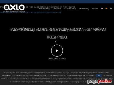 Drukarnia cyfrowa Axlo