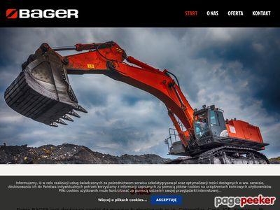 Bager - Serwis i części do maszyn budowlanych