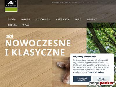 Podłogi panelowe Baltic Wood