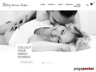 Fotografia ciążowa - studio Belly Session