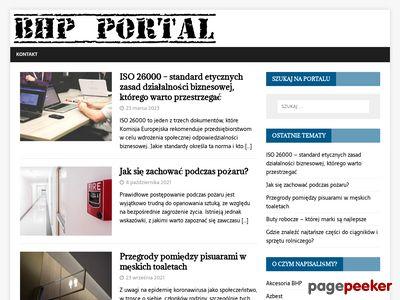 BHP-Portal - wszystko o bezpieczeństwie