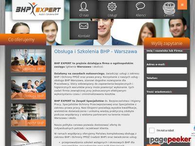 Obsługa - szkolenia BHP Warszawa
