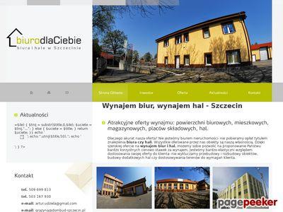 Powierzchnie składowe Szczecin