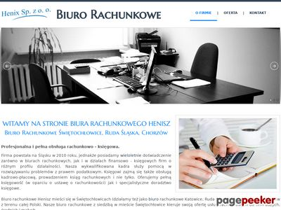 Biuro rachunkowe - Sabrina Henisz