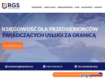 Certyfikowane biuro rachunkowe RGS Jelenia Góra