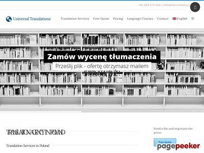 Tłumacz poznań