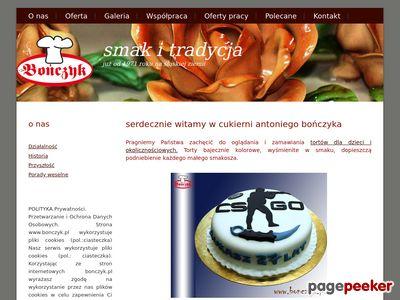 Torty weselne i okolicznościowe Antoniego Bończyka