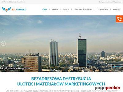 BTL-Complex.pl - Roznoszenie ulotek Toruń