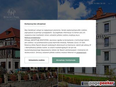Hotel Bukowy Park**** SPA Polanica Zdrój - dolnośląskie