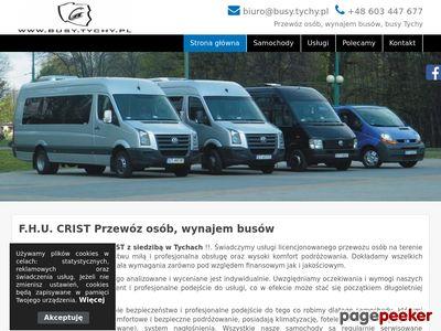 F.H.U Crist - Przewóz osób, wynajem busów Tychy