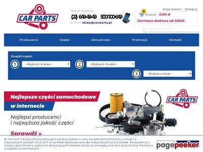 Www.carparts.com.pl - u nas kupisz części zamienne do auta