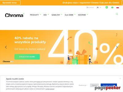 Chroma.pl: Druk wizytówek