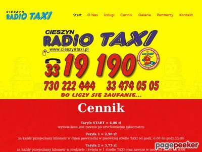 Taxi cieszyn, cieszyn taxi