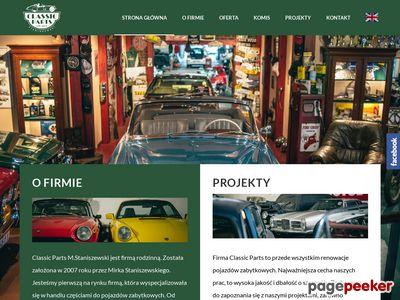 Classic Parts - Części do samochodów zabytkowych
