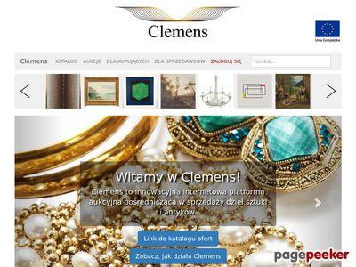 Clemens - Internetowy Dom Aukcyjny