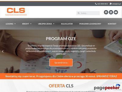 CLS.pl - leasing samochodowy