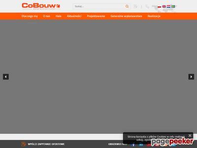 CoBouw Polska Sp. z o. o. hale przemysłowe