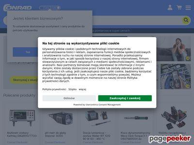 Conrad.pl - Elektronika, Elektrotechnika, Komponenty, Dom i Ogród, Narzędzia, Modelarstwo