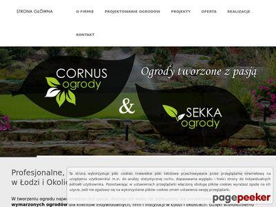 Projektowanie ogrodów Łódź - Cornus i Sekka