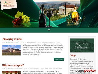 Wina z toskanii