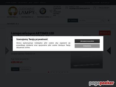 1. CudowneLampy.pl - Nowoczesne oświetlenie domowe
