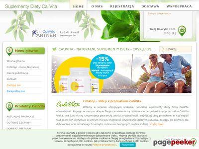 CVsklep.pl - Kosmetyki organiczne i suplementy diety