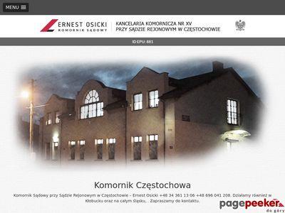 Komornik Częstochowa